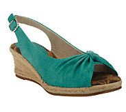Easy Street Espadrille Wedge Sandals - Monica - A251870