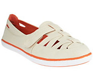 BareTraps Canvas Slip-on Shoes w/ Adj. Strap - Astaire - A253770