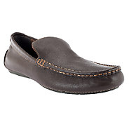 Vionic w/ Orthaheel Mens Parker Orthotic Leather Loafers - A254870