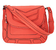 As Is Aimee Kestenberg Leather Flap Front Shoulder Bag - A264970