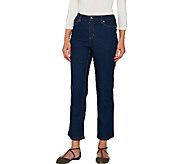 Liz Claiborne New York Jackie Straight Leg Ankle Jeans - A267170