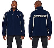 NFL Dallas Soft Shell Jacket with Fleece Lining - A268270