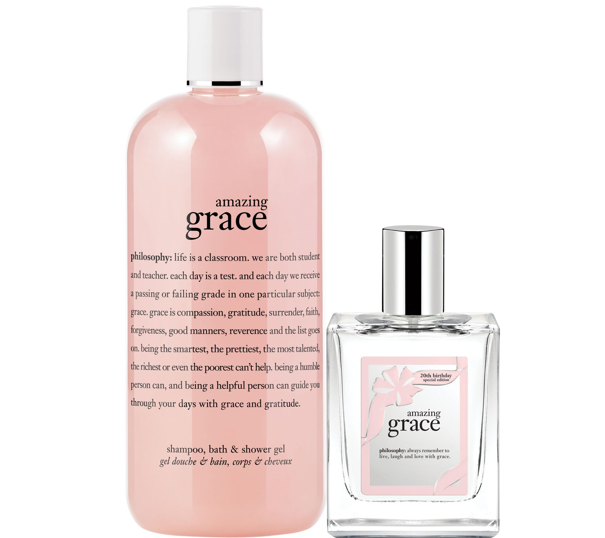 philosophy amazing grace special edition spray fragrance & gel