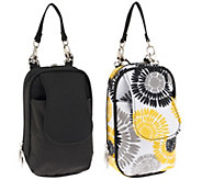 As Is Set of 2 PursePlus Extra Large Smartphone Bags with Straps - A278970