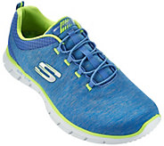 As Is Skechers Heathered Jersey Knit Bungee Sneakers - A283870