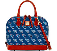 Dooney & Bourke NFL Titans Zip Zip Satchel - A285770