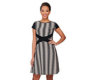 As Is SA by Seth Aaron Regular Striped Knit Dress - A288270