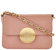 As Is Isaac Mizrahi Live! Whitney Lamb Leather Crossbody - A289070