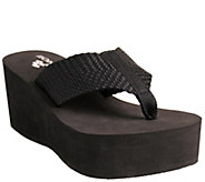 Nomad Tide Thong Wedge Sandals - A317570
