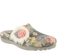 Flexus by Spring Step Indoor/Outdoor Wool Slippers - Fluffball - A360270