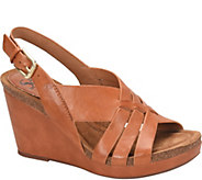 Sofft Leather Wedges - Chesny - A364670