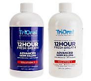 TriOral 12-Hour Fresh Breath Mouth Wash Advanced ClinicalFormula - A219571