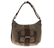 As Is Judith Ripka Jacquard Shoulder Bag with Front Lock Pocket - A236471