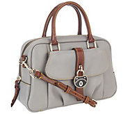 Dooney & Bourke Samba Leather Square Satchel - A255171