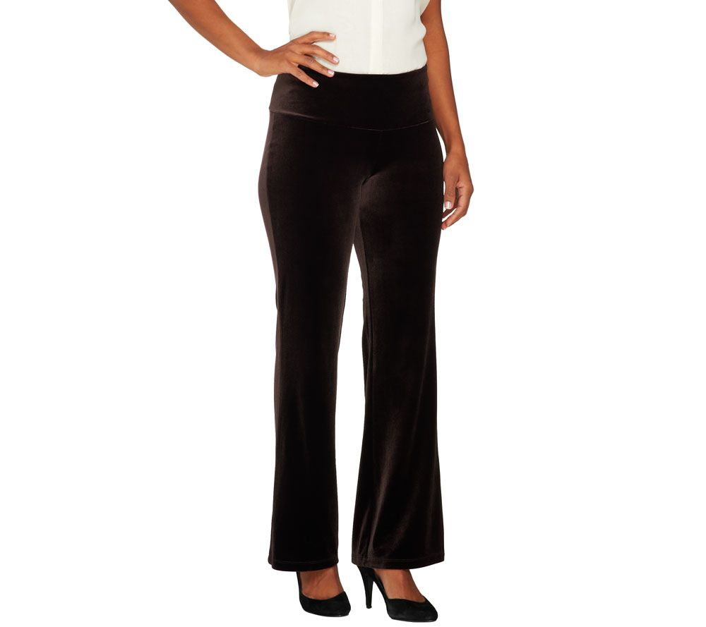 Quotes About Love Relationships: Women With Control Regular Tummy Control Velvet Boot Cut
