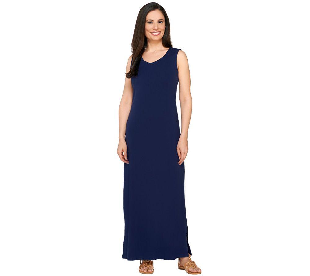 Liz claiborne new york essentials regular v neck maxi for Liz claiborne v neck t shirts