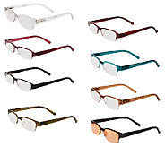 Tashon Rimless Readers Set of 8 Strength 1-2.5 - A265471