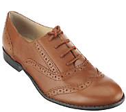 As Is Isaac Mizrahi Live! Classic Leather Oxfords - A265771