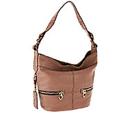 orYANY Italian Grain Leather Hobo - Arielle - A266671