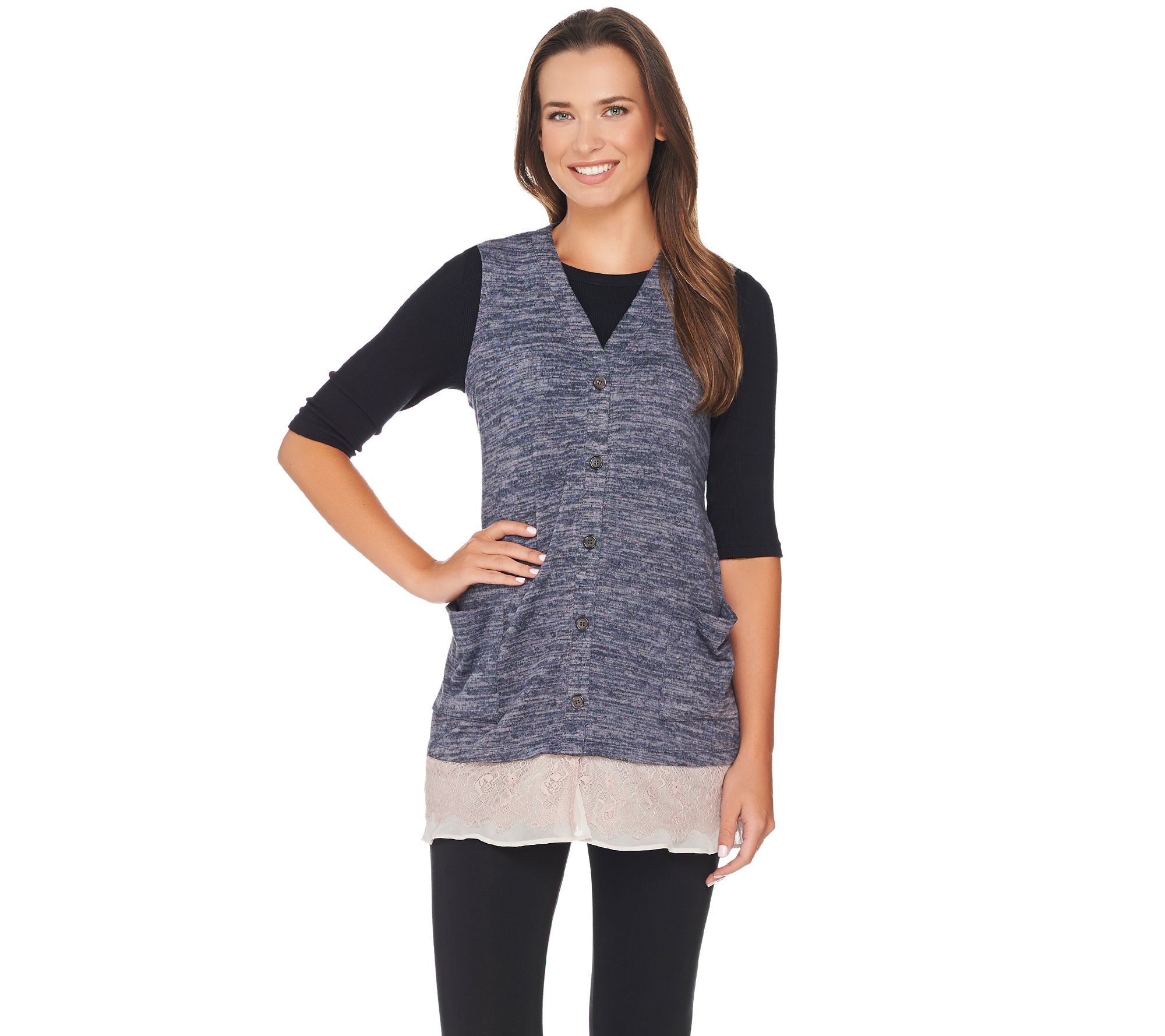 Vests — Sweaters & Cardigans — Fashion — QVC.com
