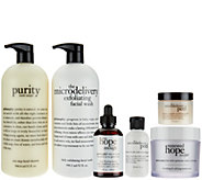 philosophy super-size clean, bright & smooth skincare kit - A271771