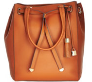 G.I.L.I Smooth Leather Large Tote Bag
