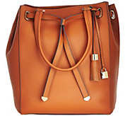G.I.L.I Smooth Leather Large Tote Bag - A273571