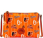 Dooney & Bourke MLB Nylon Orioles Crossbody Pouchette - A281571