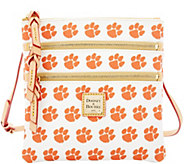Dooney & Bourke NCAA Clemson University Zip Crossbody - A283471