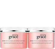 philosophy grace & love fragranced whipped body creme 8 oz duo - A293471