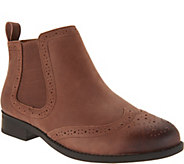 Vionic Orthotic Leather Ankle Boots - Sawyer - A297071