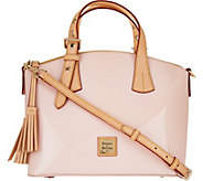 As Is Dooney & Bourke Patent Leather Trina Satchel - A299671
