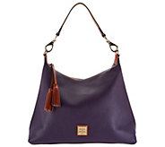 Dooney & Bourke Pebble Leather Hobo Handbag -Juliette - A300771