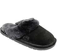 Lamo Leather Scuff Slip On Slippers - A334771