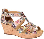 Softspots Leather Wedge Sandals - Rhode - A335971