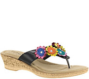 Tuscany by Easy Street Wedge Sandals - Urbino - A339071
