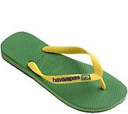 Havaianas Flip-Flop Sandals - Brazil Logo - A340471