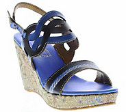 Spring Step LArtiste Wedge Sandals - Sharina - A340771