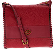As Is orYANY Lamb Leather Convertible Shoulder Bag - Roxie - A342471