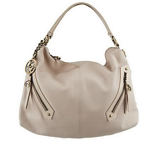 Maxx New York Nappa Leather Large Hobo with DetachableStrap