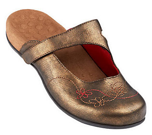 Product image of Vionic w/ Orthaheel Orthotic Mules w/Floral Detail - Jane