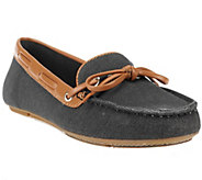 Liz Claiborne New York Canvas Moccasins with Bow Detail - A251972