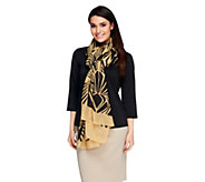 Nicole Richie Collection Two Way Printed Scarf - A253572