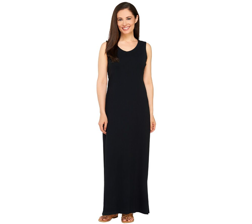 Liz Claiborne New York Essentials Petite V-Neck Maxi Dress - Page ...