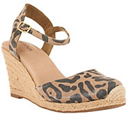 Adam Tucker Ankle strap Espadrille Wedges - Bethany - A264772