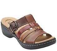 Clarks Multi-strap Slide Sandals - Hayla Cavern - A266472