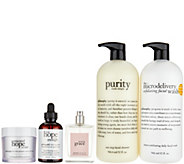 philosophy super-size cleanse, treat, & renew kit - A271772