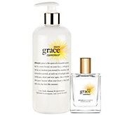 philosophy pure grace summer spray fragrance & body cleanser - A275172