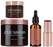 Josie Maran Whipped Agran Oil Buttery Soft Skin 4 Piece Kits - A277872