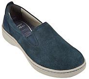As Is Dansko Suede Twin Gore Slip-on Sneakers - Belle Suede - A284072